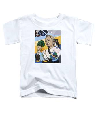In Honor Of Hillary Clinton Toddler T-Shirt