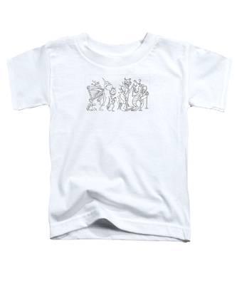 Monster  Queue Toddler T-Shirt