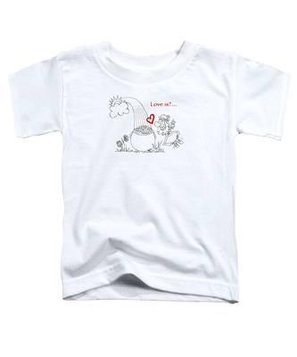 Pot Of Gold Valentines  Toddler T-Shirt