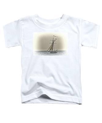Sailing Off Toddler T-Shirt