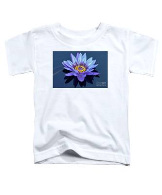 Single Lavender Water Lily Toddler T-Shirt