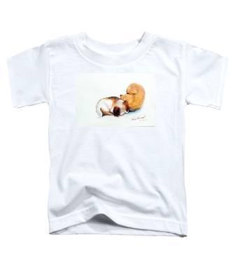 Sleeping Puppies Toddler T-Shirt