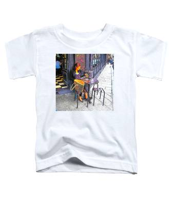 The Brasserie In Paris Toddler T-Shirt
