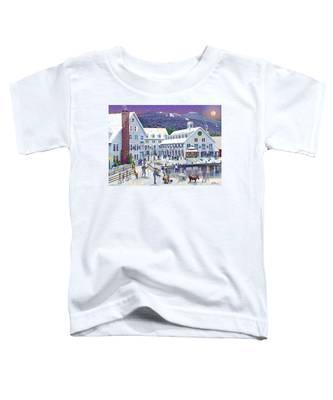Wintertime At Waterville Valley New Hampshire Toddler T-Shirt