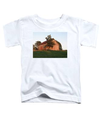 Tobacco Barn II In Color Toddler T-Shirt