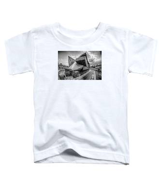 Roanoke Virginia City Skyline In The Mountain Valley Of Appalach Toddler T-Shirt
