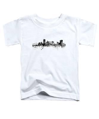 Toledo Ohio Skyline Toddler T-Shirt