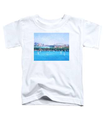 Sydney Harbour And The Opera House By Jan Matson Toddler T-Shirt