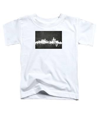 Detroit Michigan Skyline Toddler T-Shirt