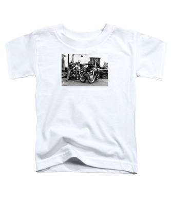 A Group Of Women Associated With The Hells Angels, 1973. Toddler T-Shirt