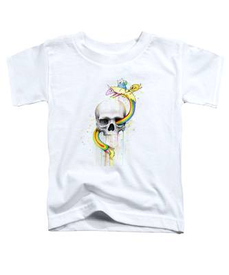 The Skull Toddler T-Shirts