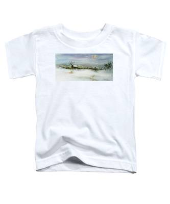 After A Heavy Fall Of Snow Toddler T-Shirt
