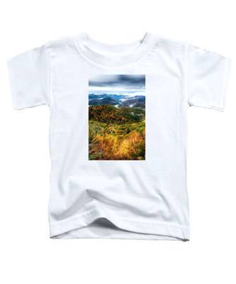 Autumn Foliage On Blue Ridge Parkway Near Maggie Valley North Ca Toddler T-Shirt