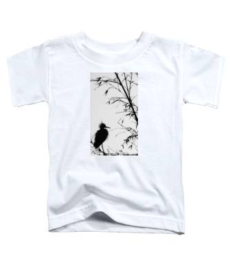 Baby Egret Waits Toddler T-Shirt
