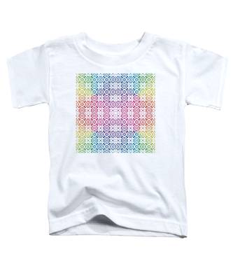 Batik Rainbow 100 - White Toddler T-Shirt