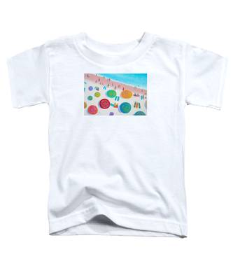 Beach Painting - A Walk In The Sun Toddler T-Shirt