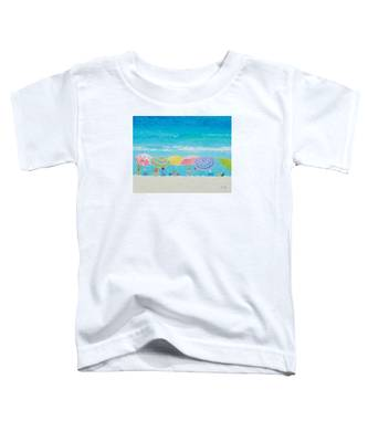Beach Painting - Color Of Summer Toddler T-Shirt