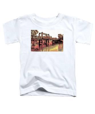 Bridge Over Murray River Toddler T-Shirt