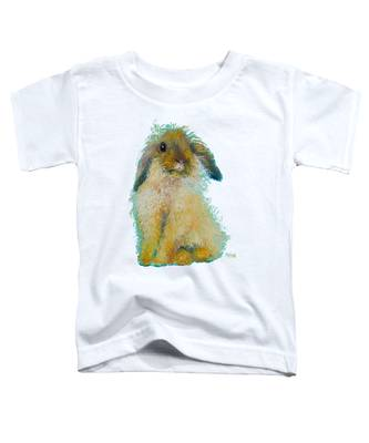 Bunny Rabbit Painting Toddler T-Shirt