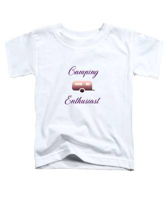 Camping Enthusiast Toddler T-Shirt