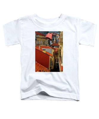 Cat Feed Toddler T-Shirt by Skip Hunt