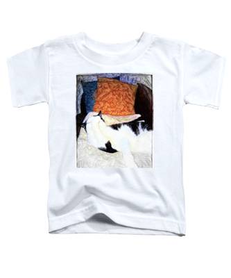 Cat Nap - Zen And The Art Of Washing Toddler T-Shirt