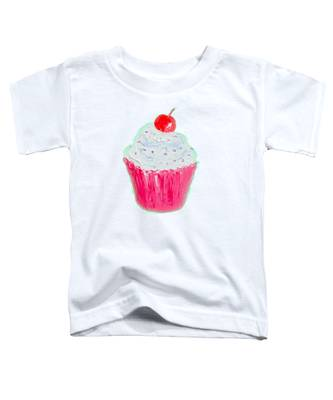 Cupcake Painting Toddler T-Shirt