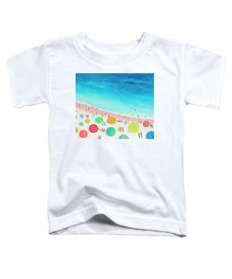 Dreaming Of Sun, Sand And Sea Toddler T-Shirt