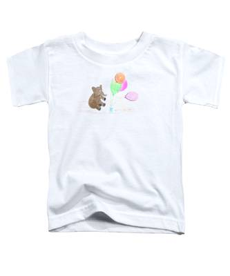 Ellie And Balloons Toddler T-Shirt