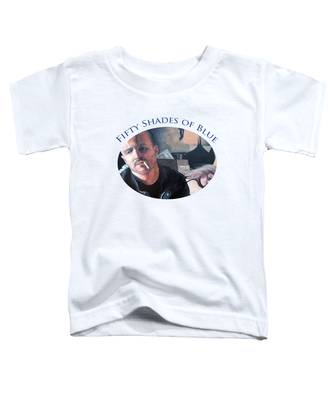 Fifty Shades Of Blue Toddler T-Shirt