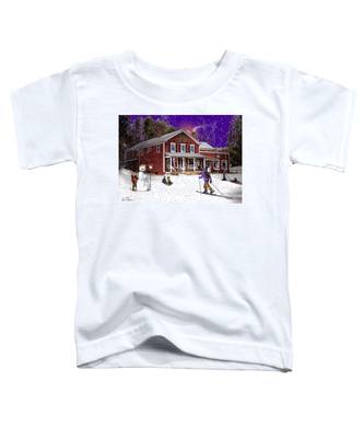 First Snow At The South Woodstock Country Store Toddler T-Shirt