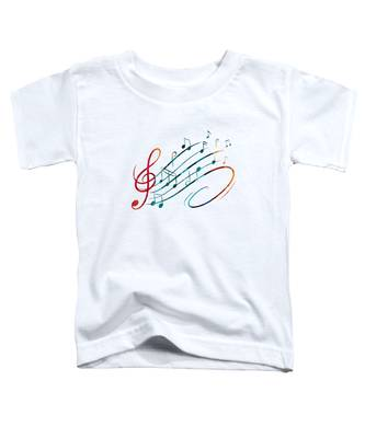 Fluid Depths Alcohol Ink Abstract Toddler T-Shirt