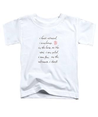 Gatha Five Toddler T-Shirt