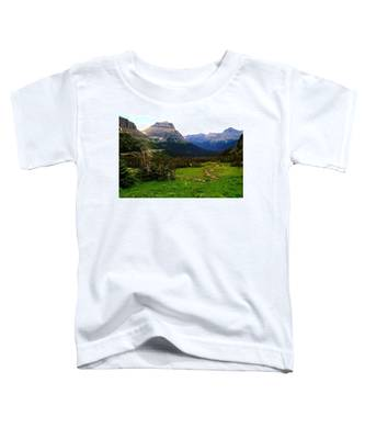 Going To The Sun Road Toddler T-Shirt
