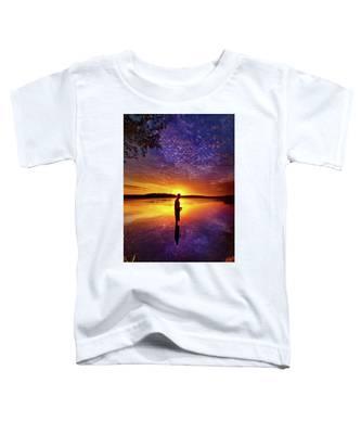 Gone Fishing Toddler T-Shirt