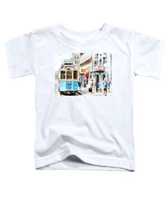 Historic Stockholm Tram Toddler T-Shirt
