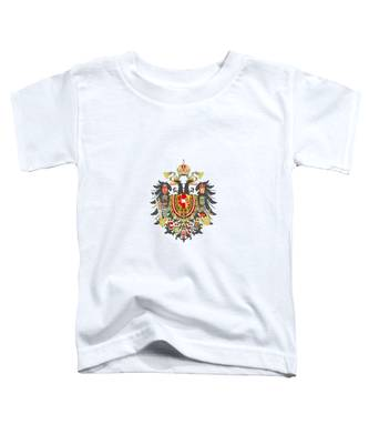 Imperial Coat Of Arms Of The Empire Of Austria-hungary Transparent Toddler T-Shirt