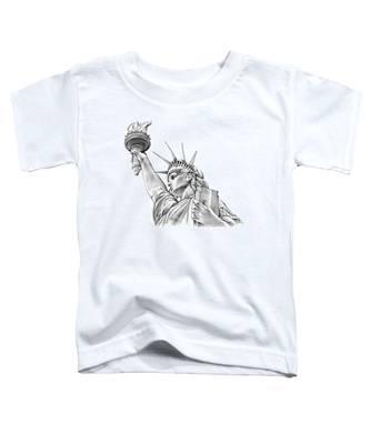 Lady Liberty Toddler T-Shirt