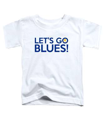 Let's Go Blues Toddler T-Shirt