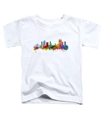 Mumbai Skyline India Bombay Toddler T-Shirt