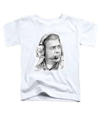 Nick Saban Toddler T-Shirt