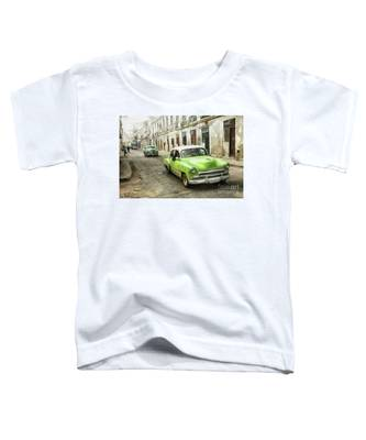 Old Green Car Toddler T-Shirt