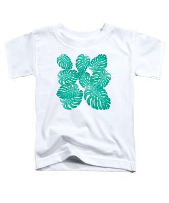 Philodendron Leaves Toddler T-Shirt