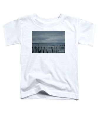 Pilings On Columbia River Toddler T-Shirt