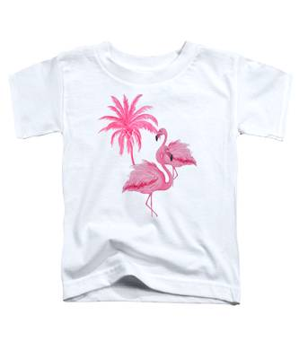 Pretty Flamingos Toddler T-Shirt