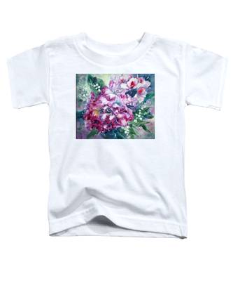 Rhododendron And Lily Of The Valley Toddler T-Shirt