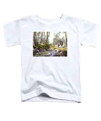 Rider By The Creek Toddler T-Shirt