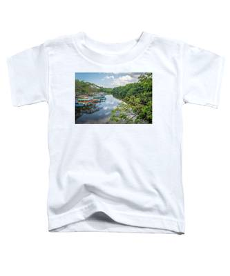 River Views In Negril, Jamaica Toddler T-Shirt
