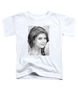 Selena Gomez Toddler T-Shirt
