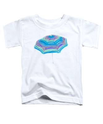 Striped Umbrella Toddler T-Shirt